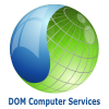 DOM Computer Services company logo for page footer